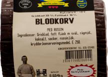 <p>Blodkorv<br /> Risbergs chark</p>