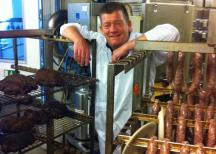 <p>Anders Levén, kock och ledamot i Korvakademien.</p>