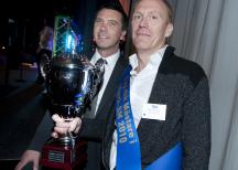 """<p><strong>Klass 4: Hela köttprodukter, kokta. Svenska mästare blev Carl Schütz Eftr med produkten """"Grillad Rostbiff"""".</strong></p>"""