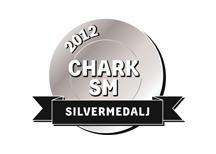 Silvermedalj 2012. eps-format, CMYK. För fyrfärgstryck etc.