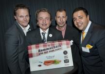 <p>Signal & Andersson vinnare i klassen Innovativa produkter med sin Hemmachark.</p> <p>Foto: Anna Sigge</p>