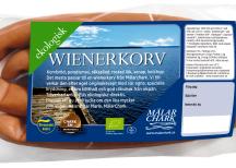 <p><strong>Ekologiska produkter<br /> </strong></p> <p>Svensk Mästare: MälarChark<br /> Produkt: Ekologisk wienerkorv</p>