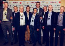 <p><strong>Gudruns</strong></p> <div> <p>Klass: Kokta helköttsprodukter<br /> Produkt: Gästrikeskinka Ångkokt</p> <p>Klass: Smal småkorv<br /> Produkt: Knackergrill</p> </div> <p>Kommentar från Jan Petersson, vd för Gudruns:<br /> <em>&#8221;Det är första gången som vi blir svenska mästare i Chark-SM, och så blir vi det i två klasser! Det känns fantastiskt, vi har verkligen gjort rätt den här gången. Det betyder mycket, inte minst för medarbetarna.&#8221;</em></p> <p>Foto: Dino Soldin</p>