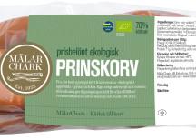<p>Klass Klassiskt kryddade korvar<br /> MälarChark<br /> Prinskorv</p>
